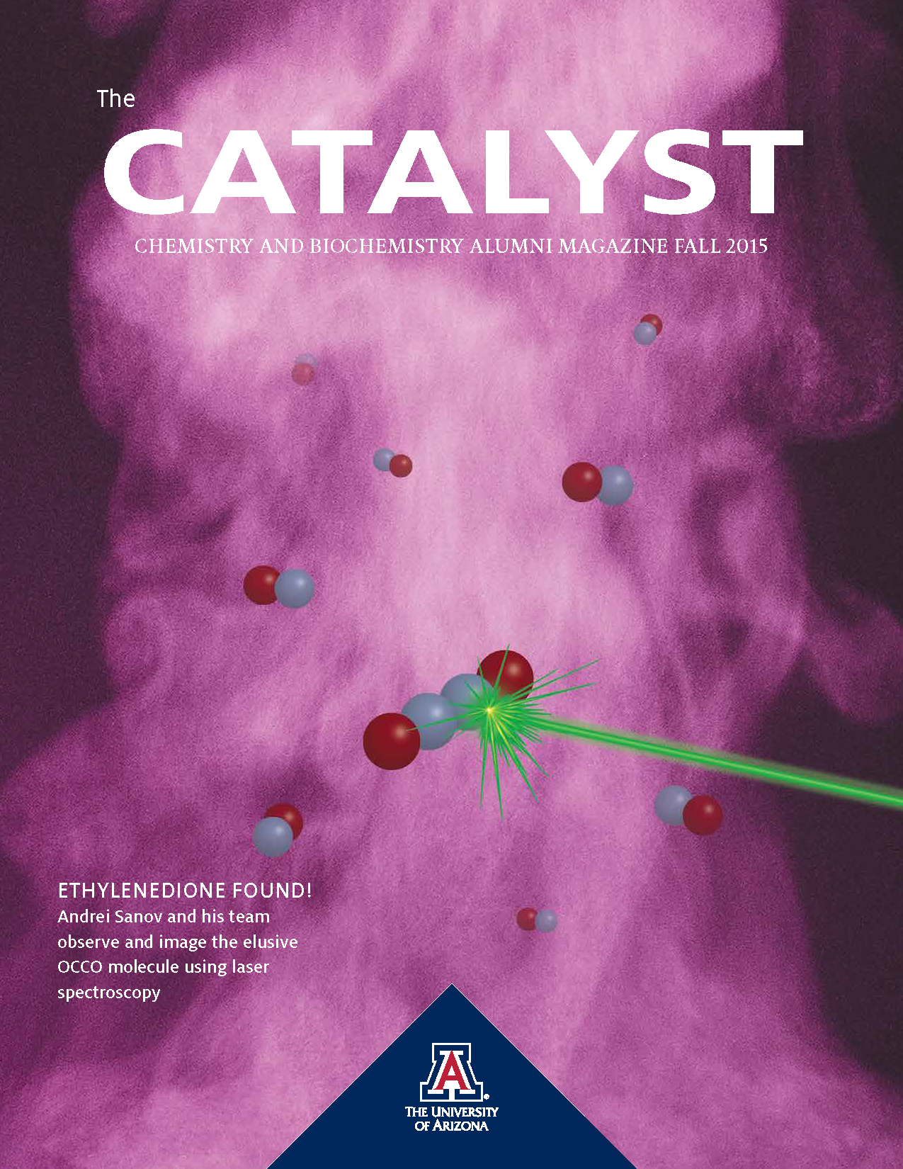 Fall 2015 Catalyst magazine cover