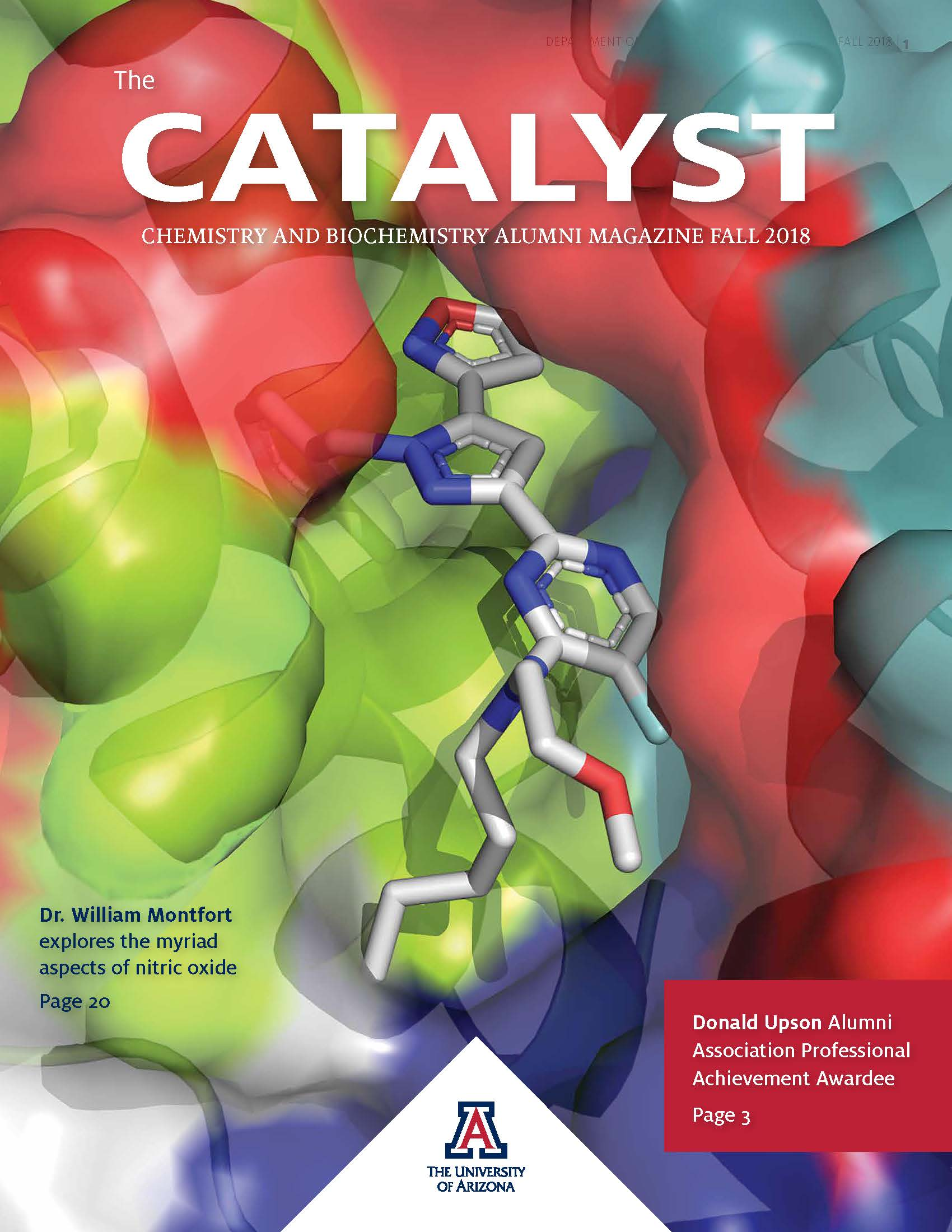 Fall 2018 Catalyst magazine cover